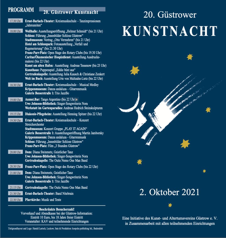 Flyer Kunstnacht