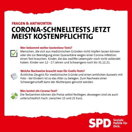Corona SPD Bund