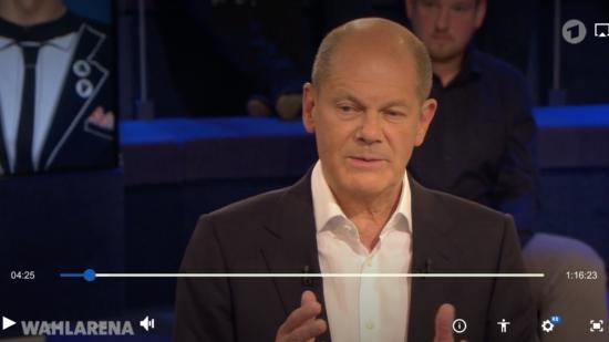 NDR Wahlarena Olaf