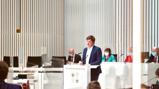 Landtag rede